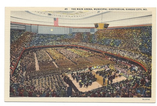 The Main Arena in Municipal Auditorium