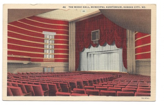 The Music Hall in Municipal Auditorium