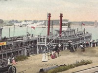 MO River Postcard