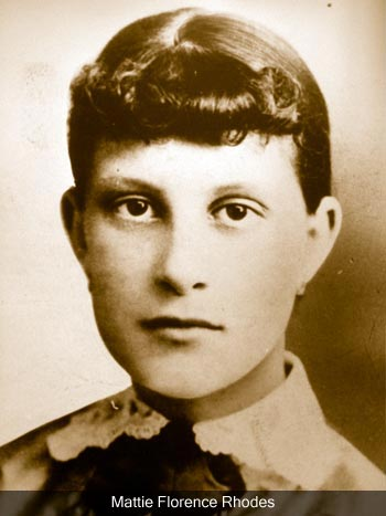 Mattie Rhodes, courtesy of www.mattierhodes.org