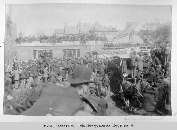 Photo courtesy of the Missouri Valley Special Collections, Kansas City Public Library