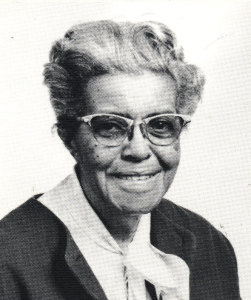 Lucile Bluford, editor of the Kansas City Call