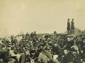 Union soldiers during the Civil War