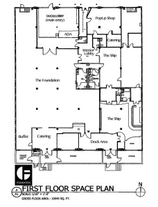 Floorplan courtesy of Foundation Architectural Reclamation
