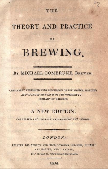 The first brewing publication