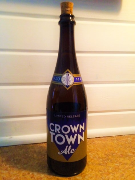 Limited edition Crown Town Ale