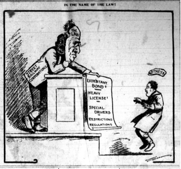 Kansas City Star. March 1, 1915, p. 1