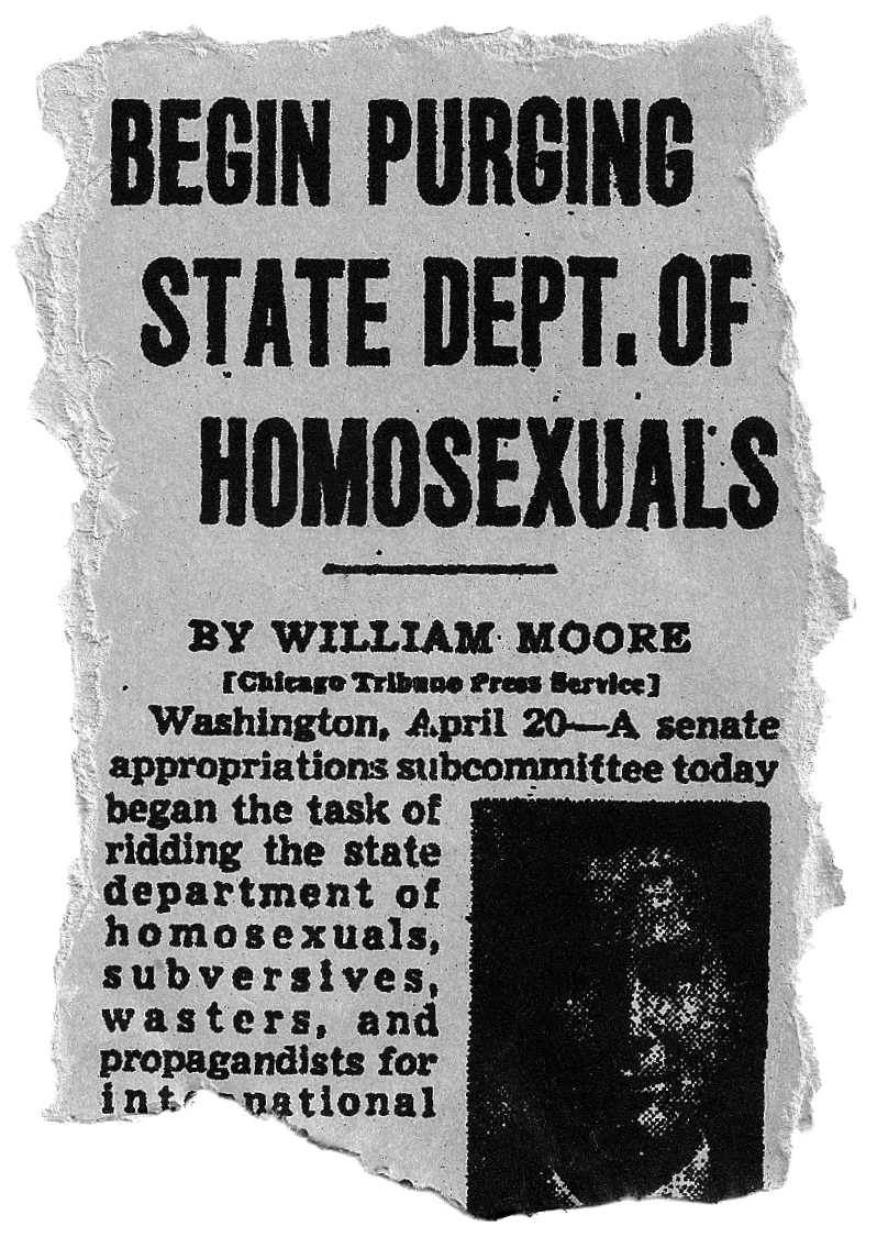 Homosexuality mental illness 1950s