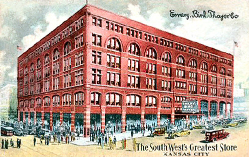 The original Emery, Bird & Thayer building courtesy of Vintage Kansas City