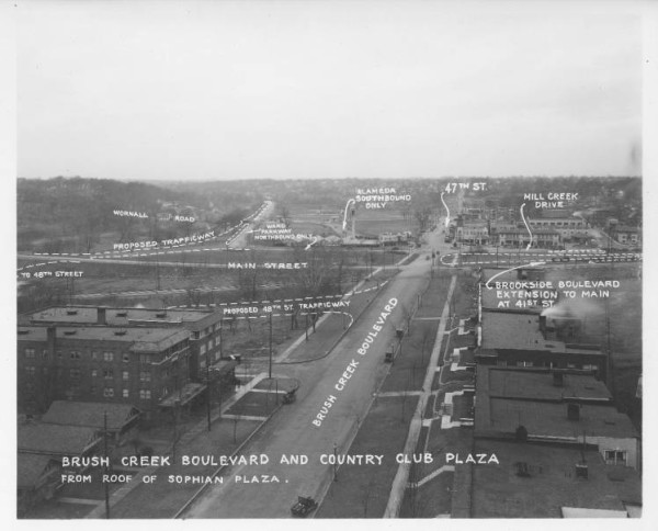 The Plaza's development, 1926