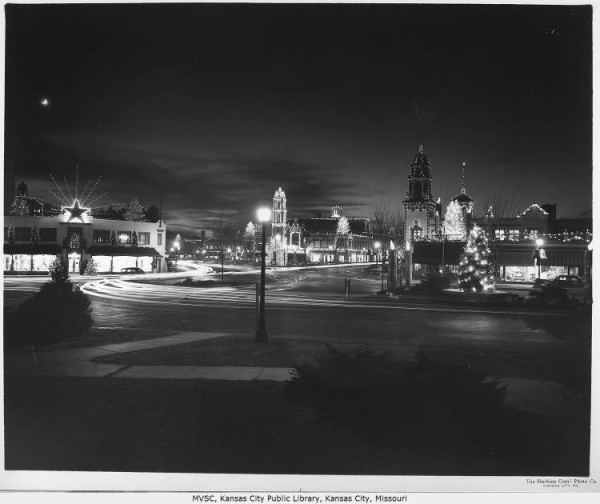The Plaza Lights, 1940  courtesy of Missouri Valley Special Collections