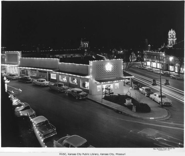 The Plaza Lights, 1950 courtesy of Missouri Valley Special Collections