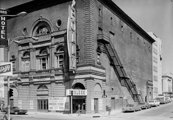 The Folly Theater, 1973