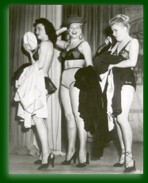 Jennie Lee, burlesque golden girl at Folly
