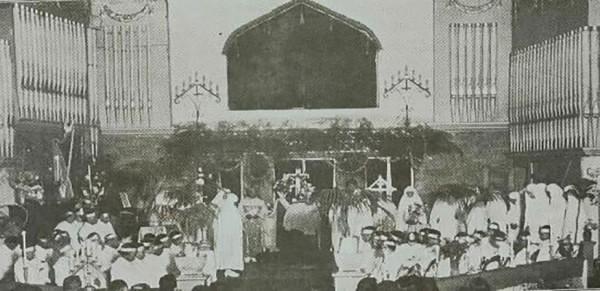 The ordination of William Taylor Courtesy of Metropolitan Spirtual Church of Christ