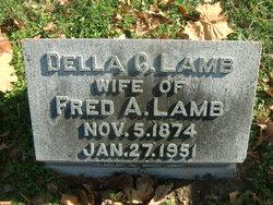 Della Lamb's gravestone