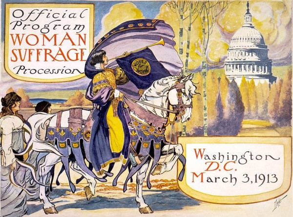 Women's Suffrage March Announcement