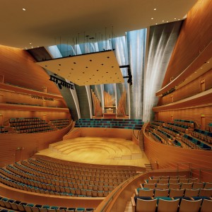 Helzberg Hall Courtesy of the Kauffman Center