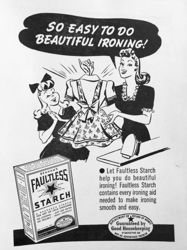 Advertisement printed in the Kansas City Social Register, 1947
